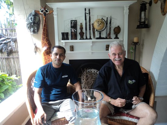 Acorn B&B in Durban: Having a good time with Don