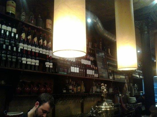 La Soberbia: Bar