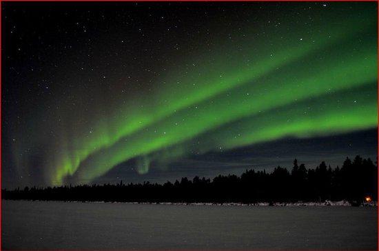 Hotel Jeris: tercera noche  de auroras boreales