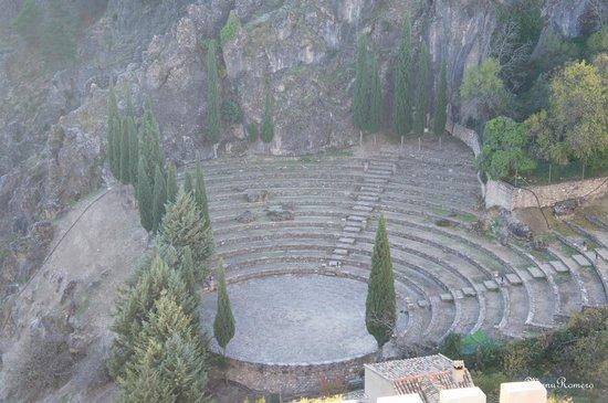 Castillo de La Iruela: Anfiteatro