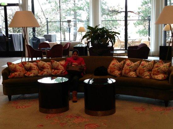 Hilton Amsterdam: Lounge