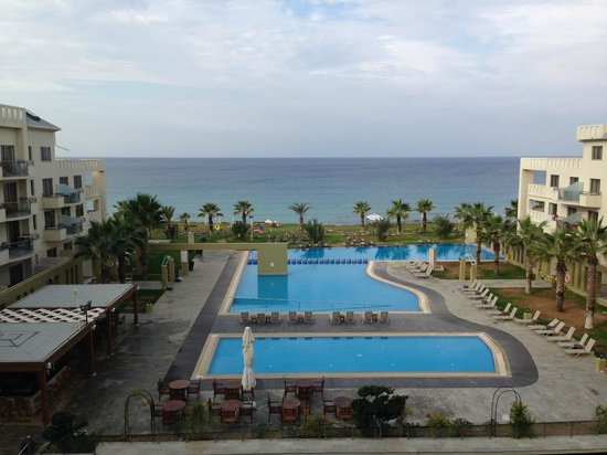 Capital Coast Resort & Spa: View from room