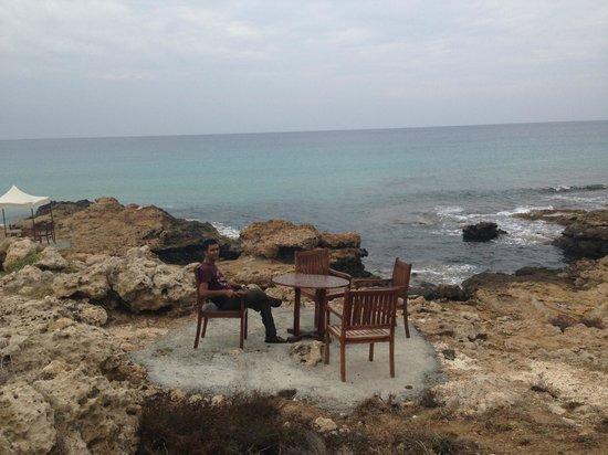 Capital Coast Resort & Spa: Private beach