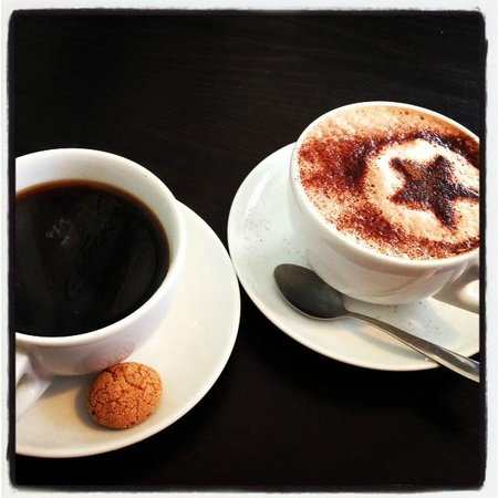 Rankin's Cafe: lovely coffees