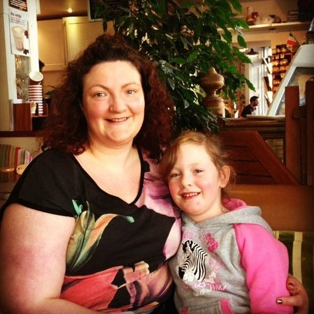 Rankin's Cafe: relaxing with mum