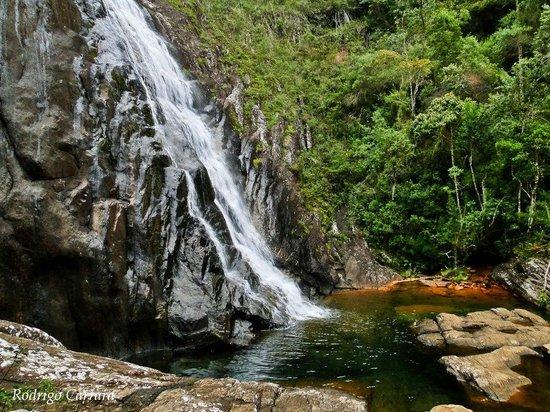 Pousada Chale Pico Da Bandeira: cachoeira bonita