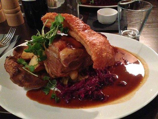Rare : Pork Sunday Lunch