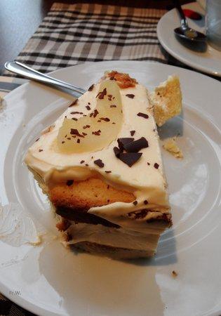 Restaurant Weinkeller Eiscafe Lazzaretti: Koffie en gebak .