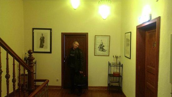 Hotel Reuter: Flur zu den Zimmern