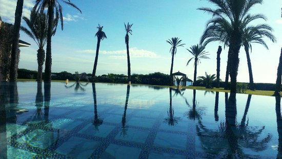 Hasdrubal Thalassa & Spa: Piscine suite presidentiel hotel hasdrubal yasmin hammamet