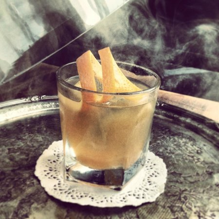 The Butchershop Bar and Grill : Smoking M Old Fashioned