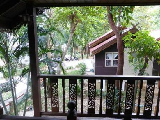Vongdeuan Resort : View from verandah