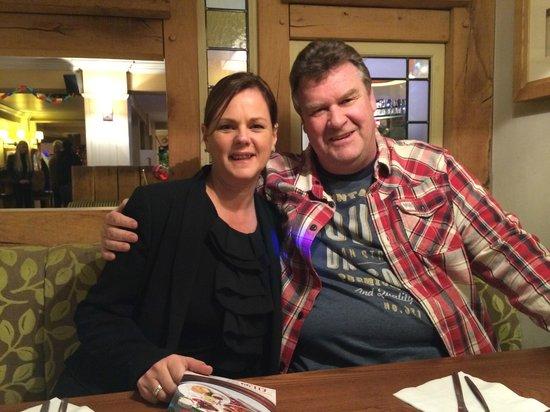 The Durley Inn Harvester: Amanda & I