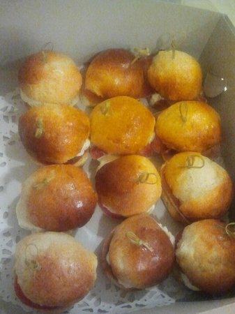 Gustatio's heerlijke mini-sanwiches