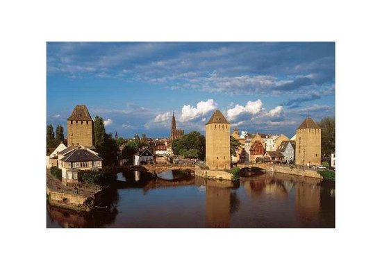 Strasbourg Pont Couverts : PONT COUVERT