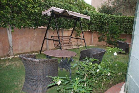 Le Meridien Jaipur Resort & Spa: Favorite part of the room