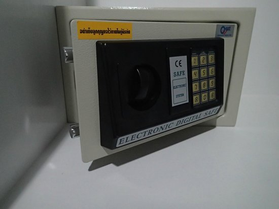 Lada Krabi Residence: Electronic Safe