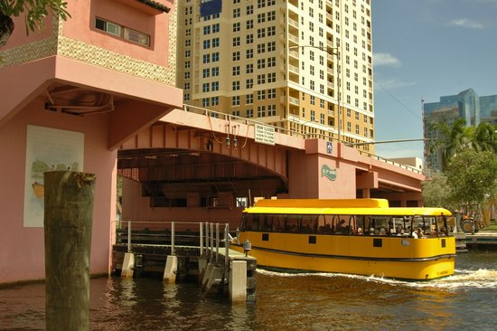 Broward Center for the Performing Arts : Ft Lauderdale Water Taxi will stop at the Broward Center