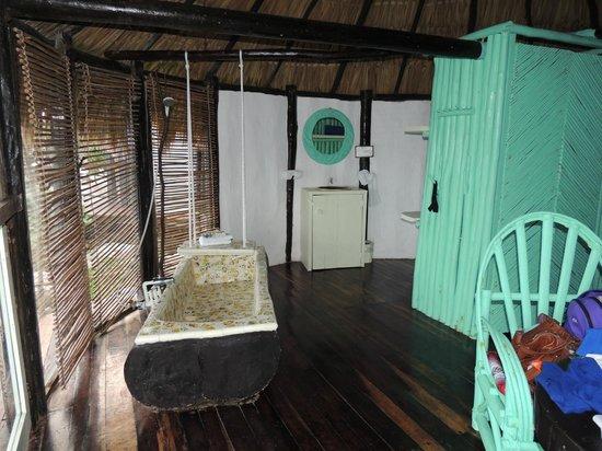 Azulik : Habitación desde el ventanal