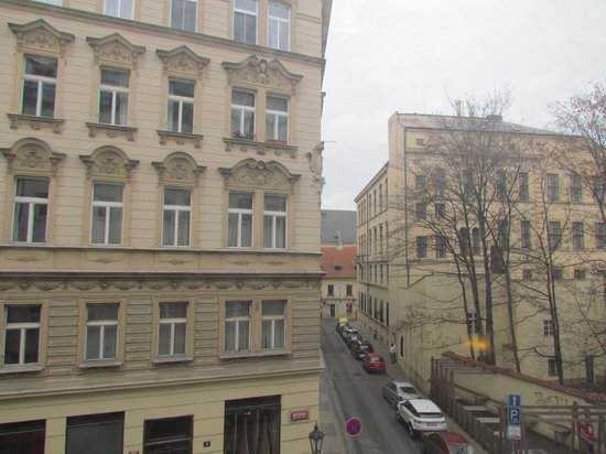 Residence Bologna: Вид из окна