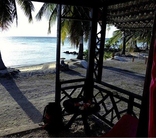 Pension Vekeveke Village : La plage