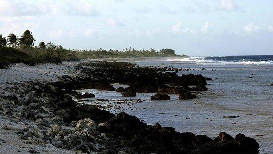 Pension Vekeveke Village : Façade océane