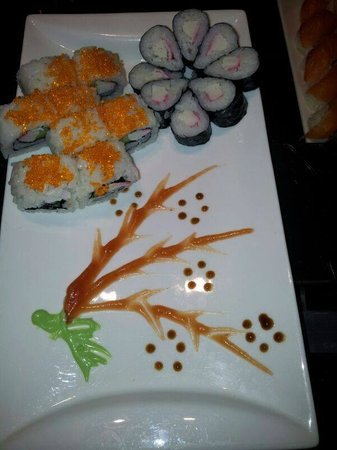 The Chinese Buffet - Bolton: Sushi at THE Chinese Buffet Bolton