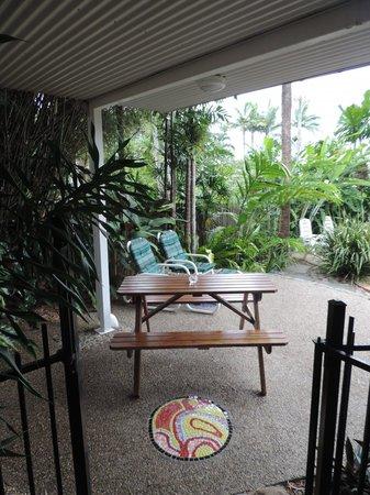 Galvin's Edge Hill Bed and Breakfast : Veranda