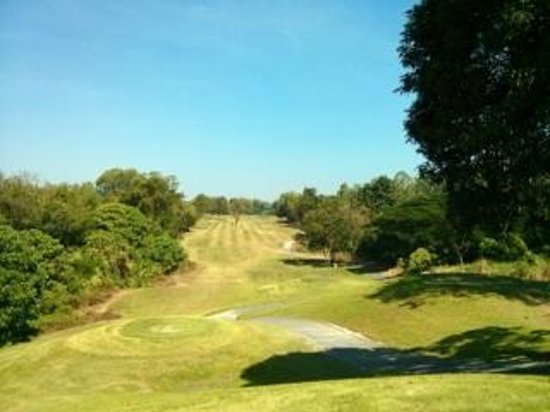 Emerald Golf Course: Typical view, quality fairways