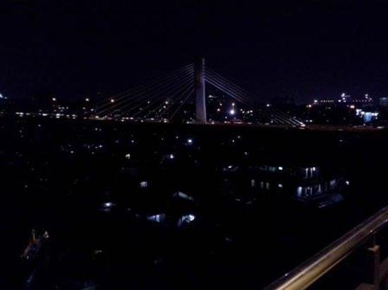 De Batara Hotel : City view from balcony