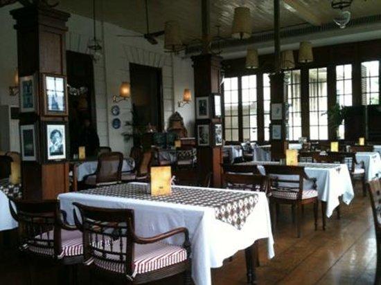 Cafe Batavia: Inside the restaurant