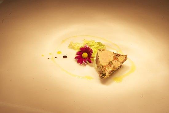 Ristorante dell'Hotel Camana Veglia : terrina di fois gras