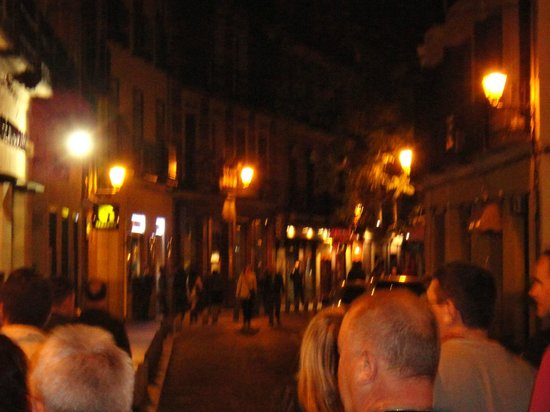 La Taberna del Capitan Alatriste : у входа в ресторан