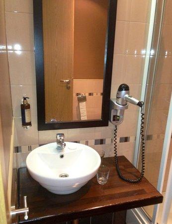 Hanza Hotel: Ванная комната