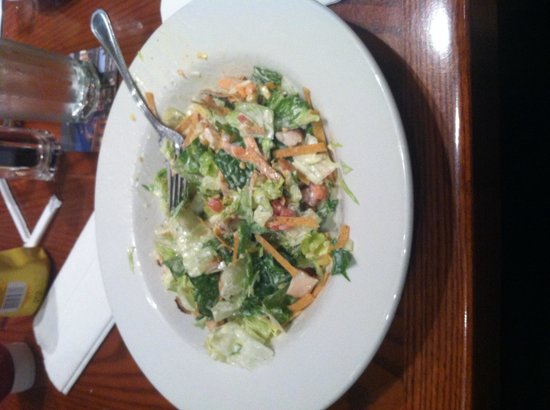 Hard Rock Cafe: Half of the salad