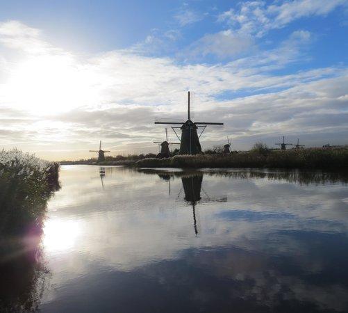 Réseau de moulins de Kinderdijk-Elshout : Kinderijk Windmill