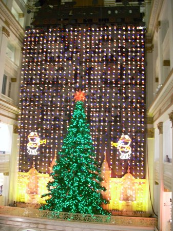 Macy's Philadelphia: Lighted tree