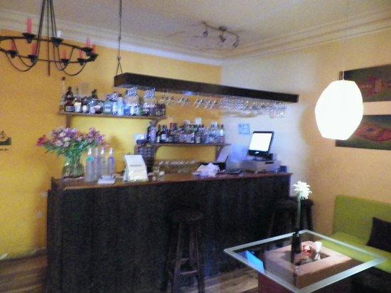 El Huacatay: The Bar area