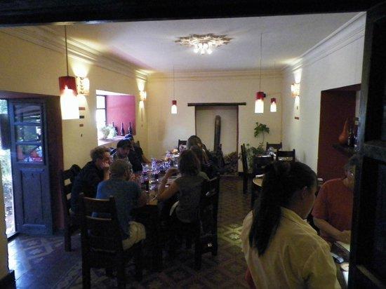 El Huacatay: Interior Dining