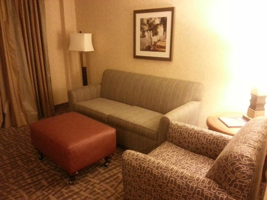 Embassy Suites by Hilton Santa Ana Orange County Airport: More sensory overload from the decor