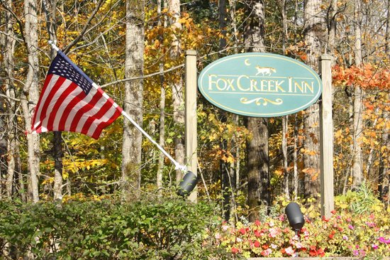 Fox Creek Inn : Entrance