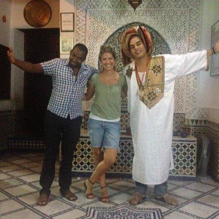 Dar el Yasmine: Con el Staff