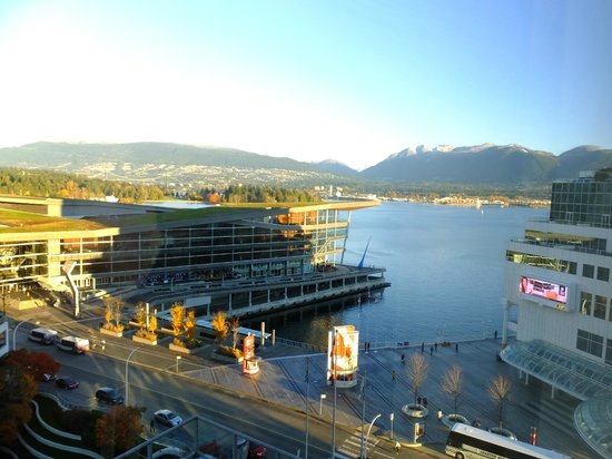 Fairmont Waterfront : A morning view...