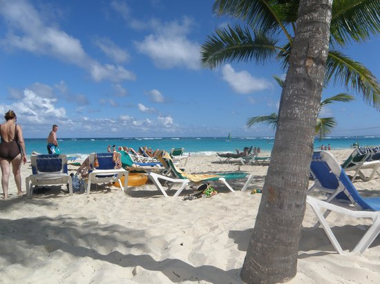 ClubHotel Riu Bambu : La playa del hotel