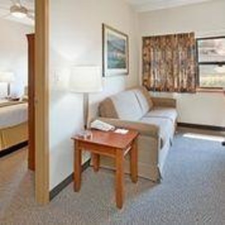 IHG Army Hotels on Fort Leonard Wood: Foster Lodge Living Room Suite w/ twin size sleeper sofa