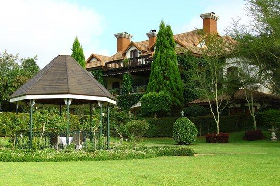 Oliver's Restaurant & Lodge: Netter Garten