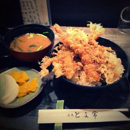 Toyotsune : tempura lunch set