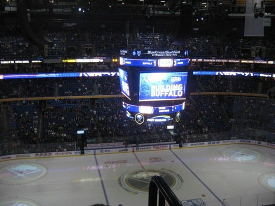 KeyBank Center: Set for the Game!
