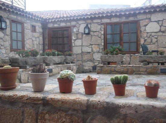 Hotel Rural San Miguel : дворик отеля