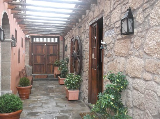 Hotel Rural San Miguel : ресепшн